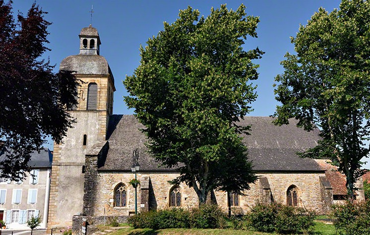 L'église Saint-Germain (Navarrenx)