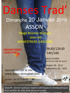 stage branle asson